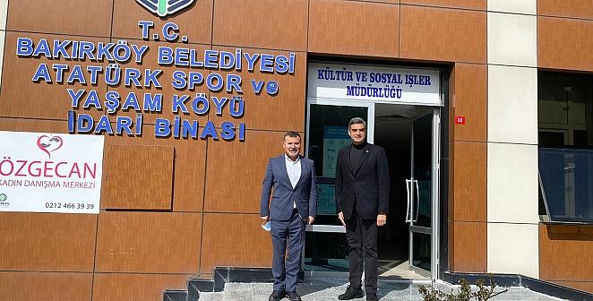 CHP'li Umut Oran, Atatürk Spor ve Yaşam Köyü'nü ziyaret etti.