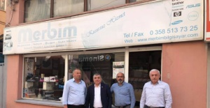 CHP'li Ramis Topal Merzifon'da esnaf  ile bir araya geldi