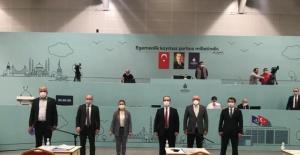 İBB Meclisi  Yenikapı'daki Avrasya Gösteri Merkezi'nde Toplandı.