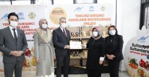 Sultangazi Belediyesi'nden Girişimci Kadınlara Destek
