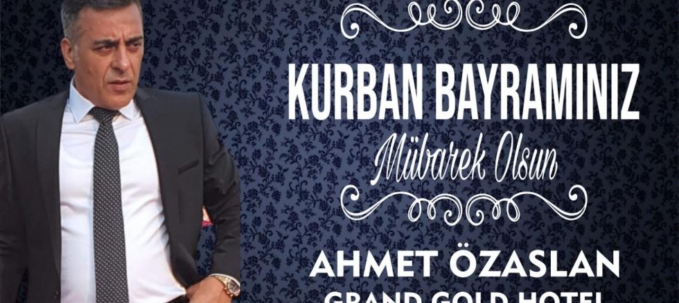 Ahmet Özaslan'dan Kurban Bayramı Mesajı