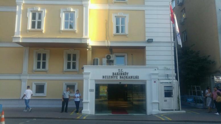 Bakırköy  Belediyesi'ni üzen acı kayıp