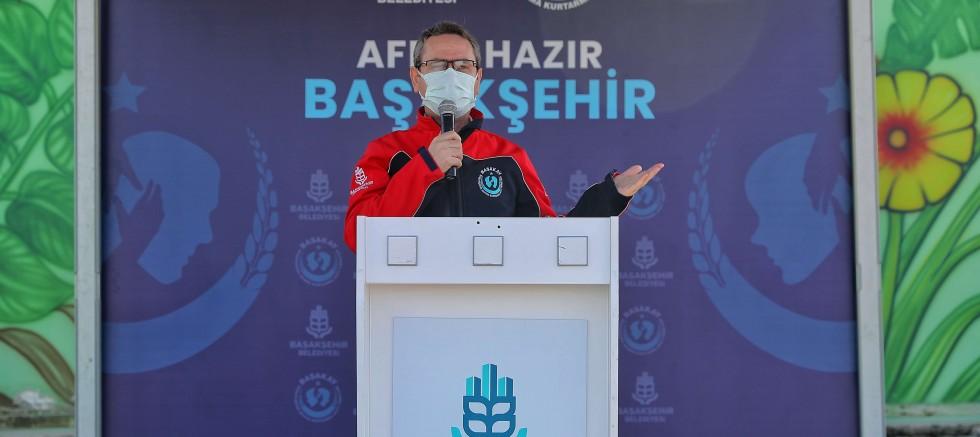 """BAŞAKŞEHİR """"BAŞAKAY"""" İLE AFET BİLİNCİ KAZANACAK"""