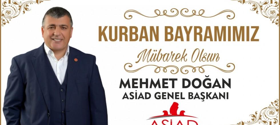 Başkan Mehmet Doğan'dan Kurban Bayramı Mesajı