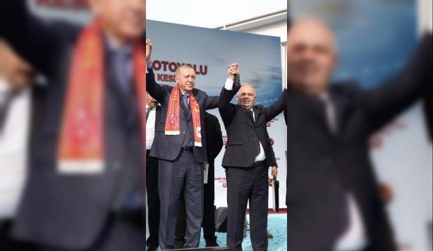 Başkan Mesut Üner'den Cumhurbaşkanı Recep Tayyip Erdoğan paylaşımı