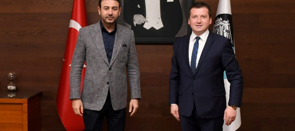 CHP'li Bora Balcıoğlu'dan Başkan Rıza Akpolat'a Ziyaret