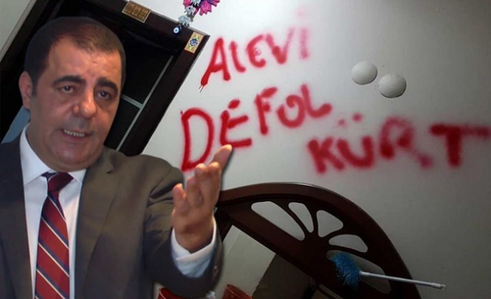 CHP'li Çapan'dan, 'Alevi, defol Kürt' provokasyonuna tepki