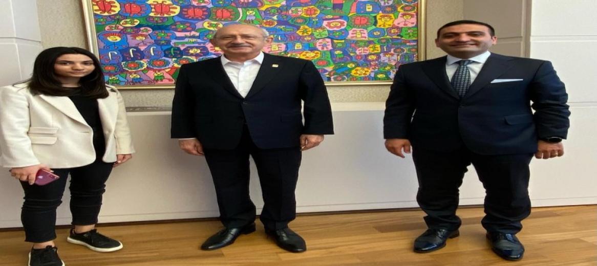 CHP'li İnan Güney, Kılıçdaroğlu'nu Ziyaret Etti