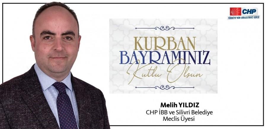 CHP'li Melih Yıldız'dan Kurban Bayramı Mesajı
