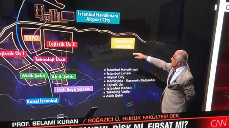CNN Türk yok artık dedirtti: Kanal İstanbul'u hukuk fakültesi dekanına anlattırdılar