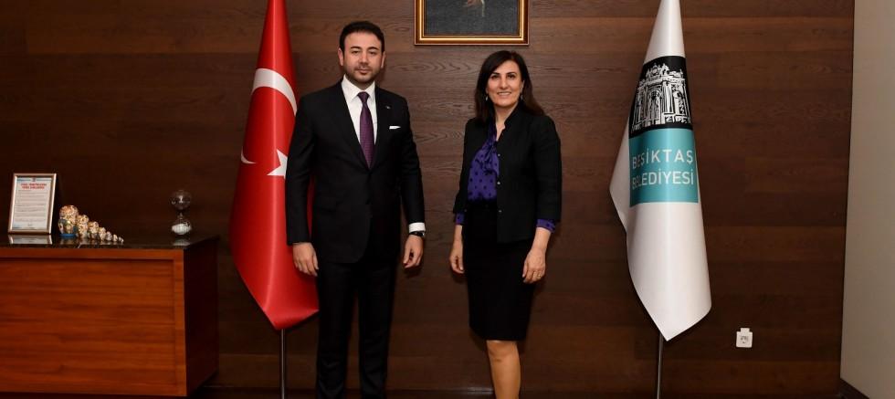 Dr. Şengül Altan Arslan'dan Başkan Rıza Akpolat'a Ziyaret