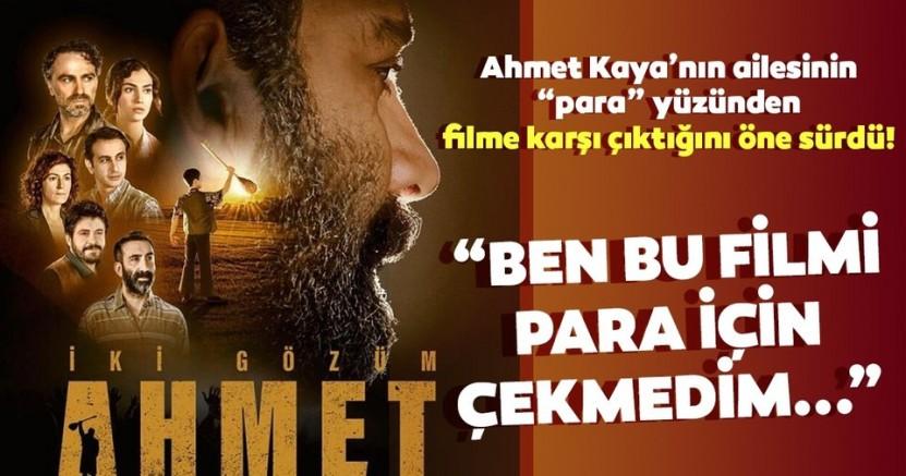 Gani Rüzgar Şavata: Ahmet Kaya filmini para pul için çekmedik