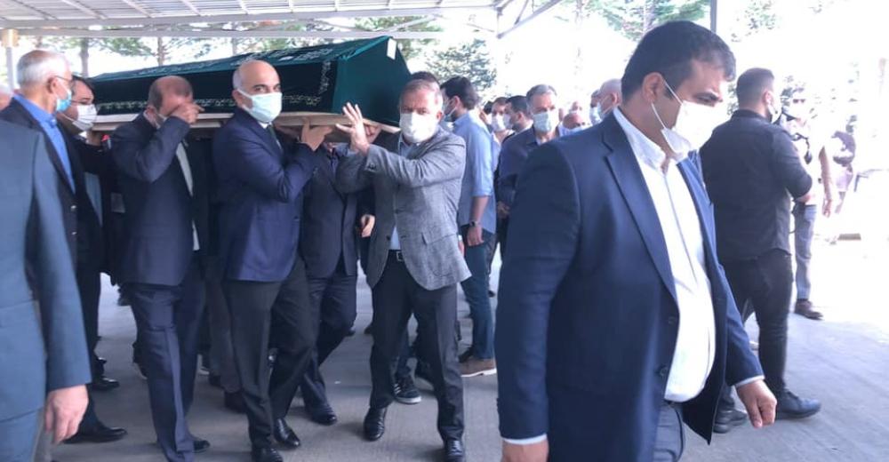 CHP'li Meclis Üyesi Sebahattin Öztürk'ün babası son yolculuğuna uğurlandı