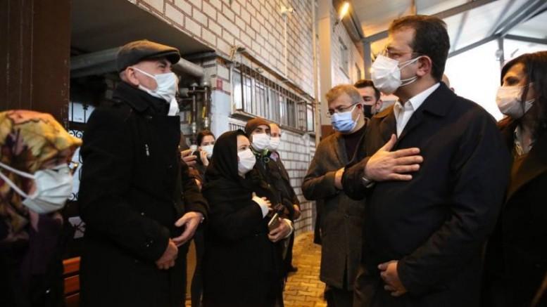 İBB çalışanı Özgün Öztürk, göz yaşları eşliğinde toprağa verildi.