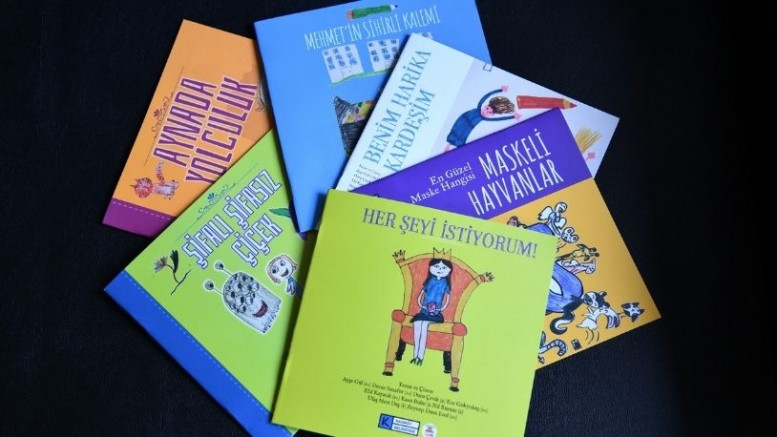 Kadıköylü çocuklar kendi kitaplarını kendileri yaptı