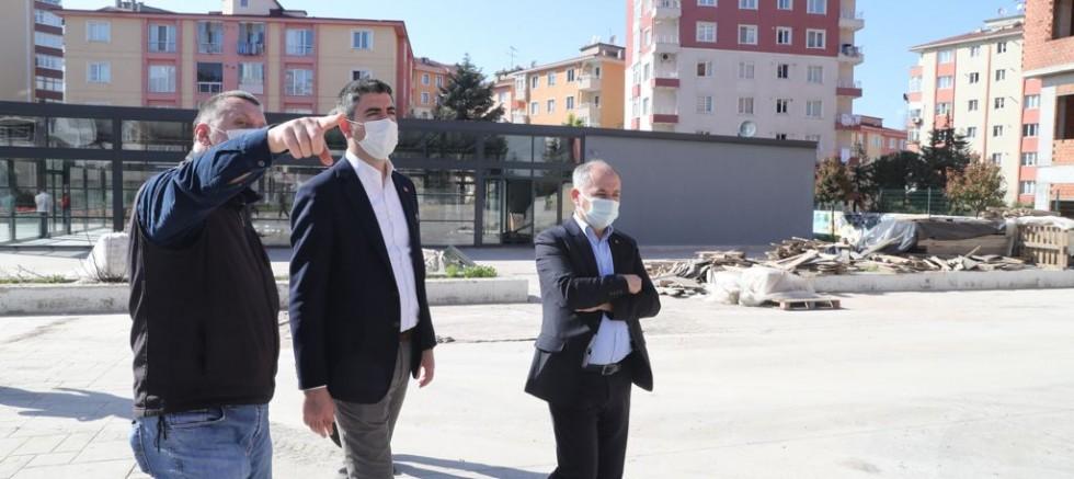 Kartal yeni meydanına kavuşuyor: Mehmet Ali Büklü Meydan Projesi son aşamada