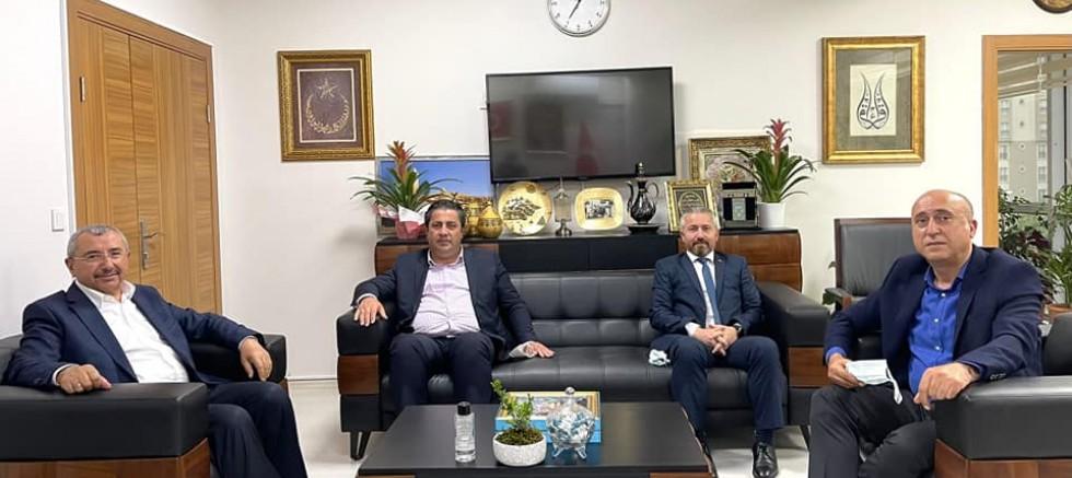 Sultangazi Sivaslılar Derneğinden Başkan İsmail Erdem'e Ziyaret