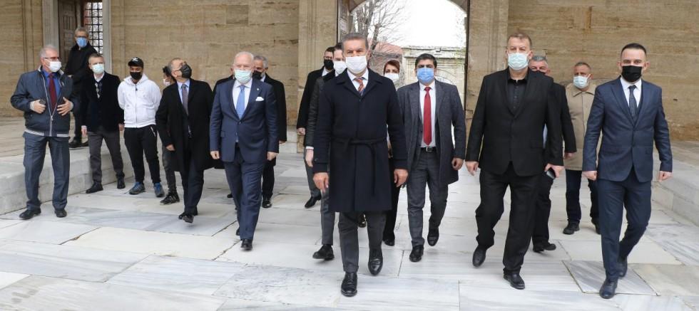TDP Genel Başkanı Mustafa Sarıgül ''Trakya balkanların Dubai'si olacak ''