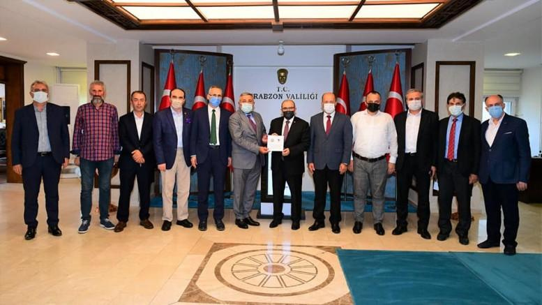 Trabzon Dernekleri Federasyonu'dan Trabzon'a çıkarma yaptı